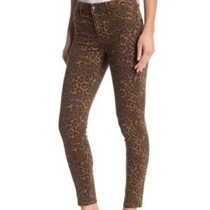 DIVINE RIGHTS OF DENIM Leopard Print Jeans